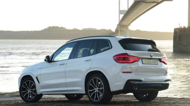BMW X3 - rear static