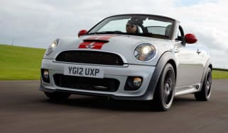 MINI JCW Roadster front action