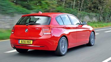 BMW 118d rear tracking