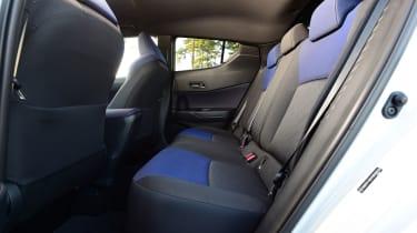 Toyota C-HR - back seats