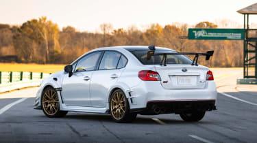 Subaru WRX STI S209 - rear static