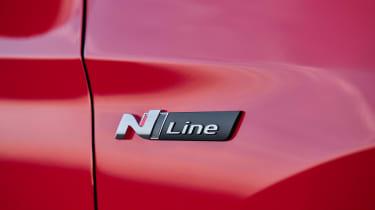 Hyundai Tucson N Line - badge