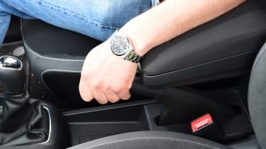 Skoda Fabia SE L: long-term test review - armrest