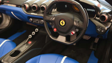 Ferrari SP3JC - interior Goodwood 2019