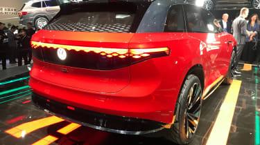 Volkswagen ID. Roomzz - Shanghai rear static