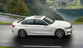 BMW 3 Series mild-hybrid - side