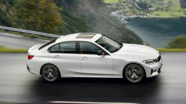 BMW 3 Series mild-hybrid - side