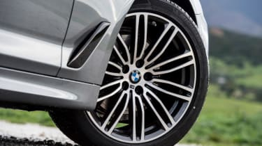 BMW 5 Series - wheel detail