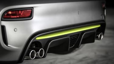Abarth 595 Pista - exhausts