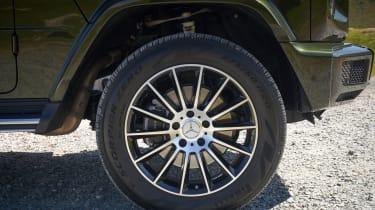 Mercedes G 350 d - wheel
