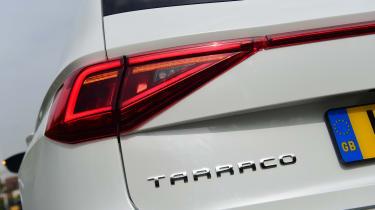 SEAT Tarraco long-termer - first report rear badge