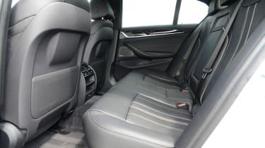 BMW 530e - rear seats