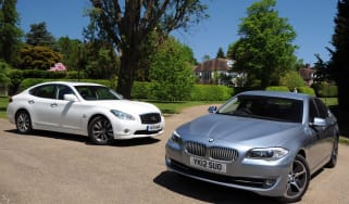 BMW ActiveHybrid 5 vs Infiniti M35h