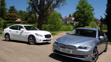 BMW ActiveHybrid 5 vs Infiniti M35h