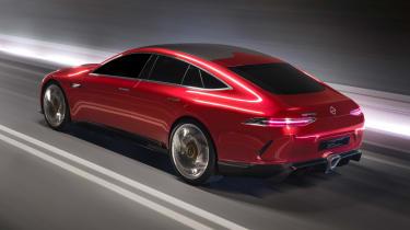 Mercedes-AMG GT Concept - rear