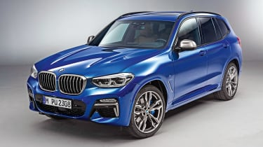 New BMW X3 - front
