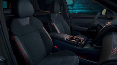 Hyundai Tuscon N Line - front seats