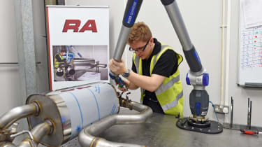 Suppliers in demand - RA specialist exhaust system