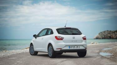 SEAT Ibiza 2015 facelift - rear 3-door