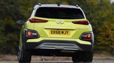 Hyundai Kona Diesel - rear cornering