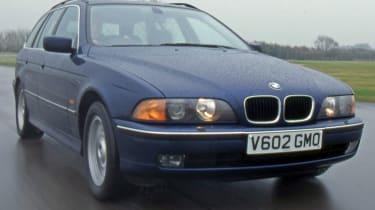 BMW 5 Series E39 front