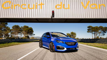"""<p class=""""p1"""">Powered by a mixture of 1.6-litre petrol turbo engine and two electric motors – one at the front axle, another at the rear – the 308 R HYbrid has been in development for the lat year and a half.</p>"""