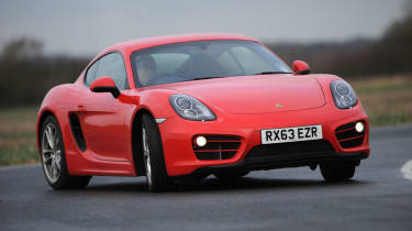 Porsche-Cayman-oversteer