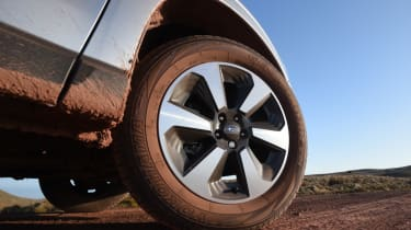 Subaru Forester alloy wheel
