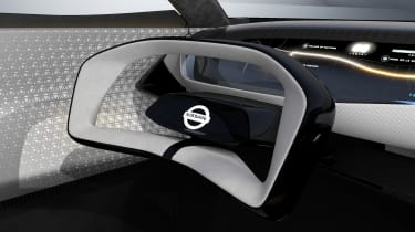 Nissan IMQ concept - interior