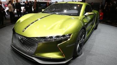 DS E-Tense concept car - Geneva 2016 - front three quarters