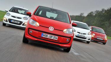 VW up! vs rivals