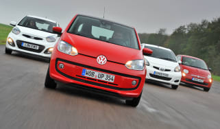 VW up! vs rivals
