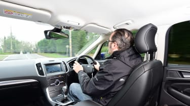 Ford S-MAX long-term - Dean driving