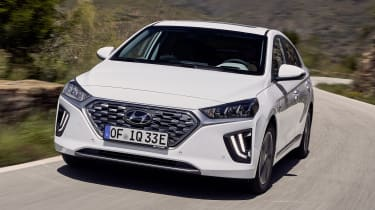 Hyundai Ioniq Plug-in - front action