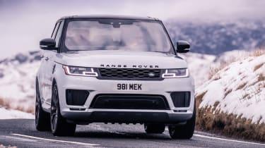 Range Rover Sport HST - full front