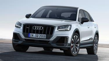 New Audi SQ2 –white