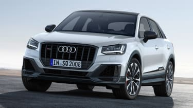 New Audi SQ2 – white