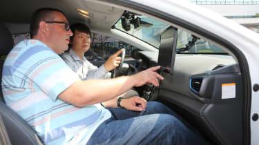 Hyundai Ioniq autonomous ride review - John McIlroy