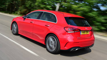 Mercedes A-Class - rear action