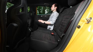 Renault Megane RS 300 Trophy Rear seat