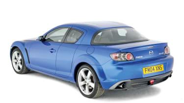 Mazda RX-8 rear static