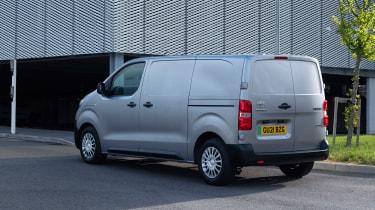 Toyota Proace Electric van - rear static