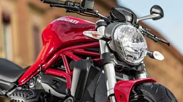 Ducati Monster 821 review - headlamp