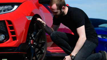 Honda Civic long-term review - wheel