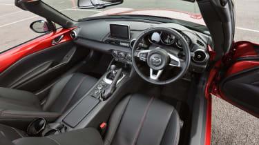 Dacia Logan MCV Stepway - gearstick