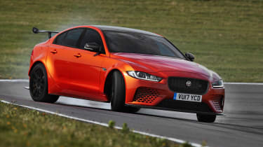 Jaguar XE SV Project 8 - front action