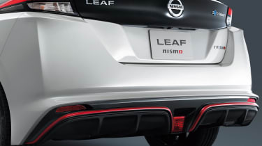 Nissan Leaf Nismo - tailgate