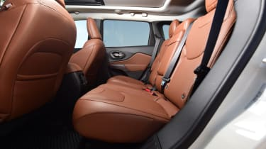 Jeep Cherokee - back seats