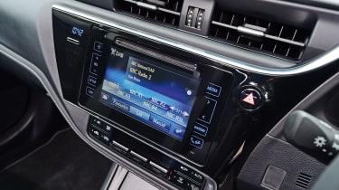 Toyota Auris - dash