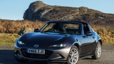 Mazda MX-5 RF 2017 1.5 UK - front quarter